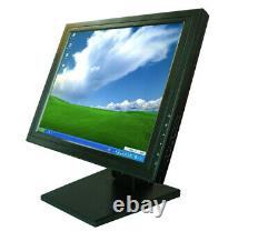 15 inch Stand Desktop Touch Screen LCD Monitor with VGA TFT POS