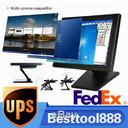 15 inch VGA TFT-LCD Touch Screen Monitor POS Stand Restaurant Pub Karaok Retail