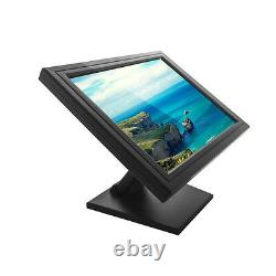 17 Commercial POS Stand Touch Screen Monitor USB VGA for Retail Restaurant USA