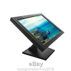 17 LCD Touch Screen Monitor VOD System POS Stand LED Monitor Restaurant USB