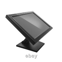 17 Touch Screen LED LCD Monitor Display USB withMulti-Position POS stand VOD Syst