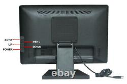 17 inch 5-wire Resistive Stand Touchscreen LCD VGA Touch Screen Monitor LCD POS