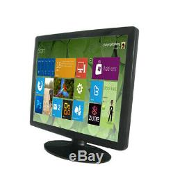 19 inch 43 Ratio Stand Touch Screen LCD Monitor withVGA DVI USB