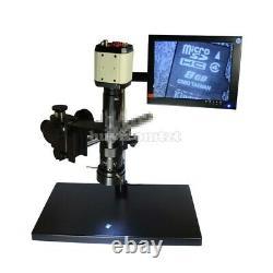 2MP Microscope VGA USB AV Camera+180X C-Mount Lens +Stereo Stand+8 LCD Monitor