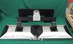 2 Dell UltraSharp 2407WFP 24 Widescreen LCD Monitors With Dell Dual Stand
