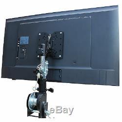 2 LCD TV/MONITOR MOUNT 32 to 80 FOR 12 TRUSS OR SPEAKER STANDS AV DJ