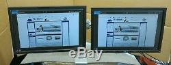 2 x Dell UltraSharp T443R E1910F 19 LCD TFT Widescreen Monitor With Dual Stand