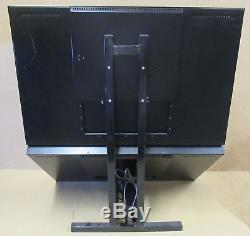 2 x Generic 32 LCD Monitor On Stand With Power Supplies