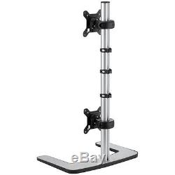 2x Atdec Visidec VFS-DV Vertical LED/LCD Monitor Stand for Dual Monitors
