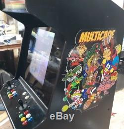 412 in 1 Multicade Stand Up Arcade Game w Vertical Game Elf Card 20 LCD Monitor