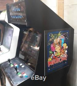750 in 1 Multicade Stand Up Arcade Game w Game Elf Card 22 LCD Monitor NICE
