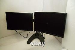 ACER 22 V223W V223WL V226WL Widescreen Dual Monitor VGA DVI 1680x1050 withStand