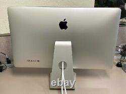 APPLE THUNDERBOLT A1407 DISPLAY 27 LCD with SPEAKER & STAND 2560 x 1440