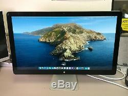 APPLE THUNDERBOLT A1407 DISPLAY 27 LED LCD with SPEAKER & STAND 2560 x 1440