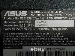 ASUS VW266H 25.5 HDMI VGA Widescreen LCD Monitor with Stand Grade B
