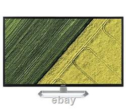Acer 32 Widescreen IPS LCD Monitor Black Missing A Stand. Can Be Mounted