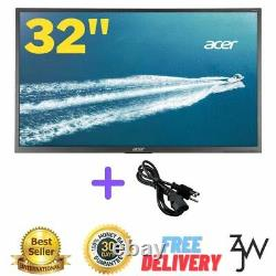 Acer 32inch Widescreen LCD Monitor Display 4K UHD 384 0X 2160 6 ms IPS B326HK W