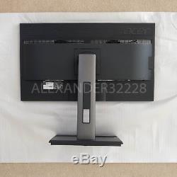 Acer B286HK 28 inch UHD 4K 3840x2160 Widescreen LCD Monitor LED-backlit with stand