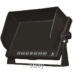 BOYO 7 Widescreen LCD Monitor with Dash Mount Stand Black