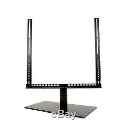 Cavus CAVTSL Large Table Top TV Stand for 46 60 LED LCD Screens / Monitors