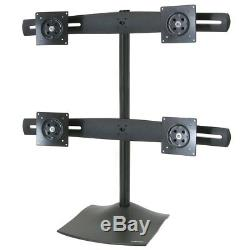 Computer Samsung SyncMaster 920N 19 Four 4 LCD Quad Monitors Desk Stand 1 Base