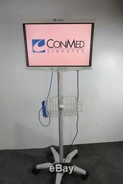 Conmed/Linvatec 26 HD1080P LCD Monitor Ref. VP4726 WithStand