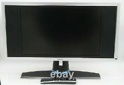DELL 19 W1900 LCD TV MONITOR With REMOTE, STAND, SPEAKERS, VGA + POWER CORD