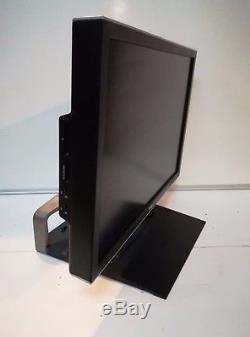 DELL 24 E2408WFP LCD MONITOR HDMI DP DVI VGA USB 1920x1200 GRADE A + DELL STAND