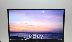 DELL 24 P2417H Black LCD IPS Full HD PC MONITOR GRADE A HDMI DP VGA NO STAND