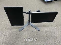 DELL Dual 20 LCD TFT 1920X1080 Widescreen VGA Monitor with stand VGA DVI DP