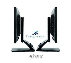 DUAL Matching HP 22 Widescreen LCD Monitors withDUAL LCD Stand Gaming Model Vary