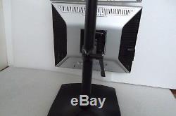 Dell 1907FP LCD Dual Monitor USB 2.0 Hub VGA DVI 19 DC323 CJ319 ERGTOTRON Stand