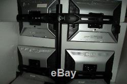 Dell 1907FP LCD Monitor 4-Port USB Hub VGA DVI 19 DC323 CJ319 ERGOTRON Stand