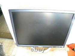 Dell 2001FP LCD Monitor Retro Gaming with svga, AC Power Adapter & Stand