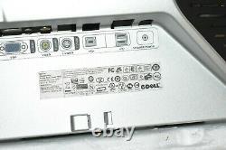 Dell 2007FPb 20 LCD Monitor 1600x1200 VGA DVI USB Hub Stand Cables REV A05