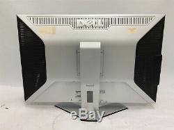 Dell 3007WFPT 30 Widescreen 1610 DVI USB LCD Monitor & Stand See Description