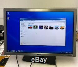 Dell 3008WFPt 30 Widescreen LCD Monitor with Stand Power Cord & VGA Cable