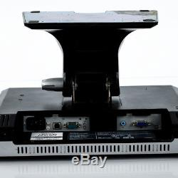 Dell E157FPTe 15 LCD POS Retail Touchscreen VGA Serial Monitor 0XM180 With Stand