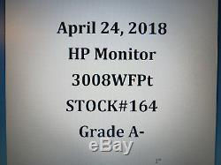 Dell LCD Monitor 30 WithStand Widescreen DVI-D Display 3008WFPt Flat Panel HDMI
