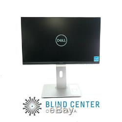 Dell P2219H Widescreen LCD Monitor 21.5-in HDMI DP VGA With Dell U2417HJ Stand