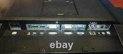 Dell U2410F 24 Monitor with stand and Speaker Bar. Tested working Grade A