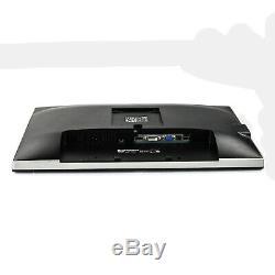 Dell U2412M 24 Widescreen 1920x1200 LED Backlit LCD Monitor DP DVI VGA Grade A