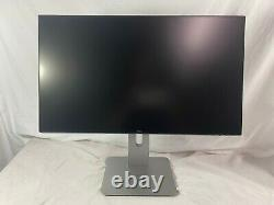 Dell U2417H LED LCD 1080P Monitor with silver P series stand