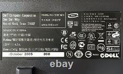 Dell UltraSharp 2001FP 20.1 LCD Monitor VGA DVI USB SOUND BAR WITHOUT STAND