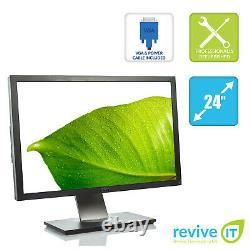 Dell UltraSharp U2410 24 1920x1200 LCD Monitor HDMI Dual DVI DP VGA Grade A
