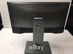 Dell UltraSharp U2417H 24 Monitor withStand & Power Cord TESTED