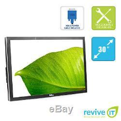 Dell UltraSharp U3011 30 2560x1600 IPS LED Monitor ONLY (No Stand) Grade B
