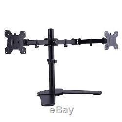 Design Dual Monitor Mount Adjustable Desk Stand for 2 LCD Screens Fit 16-27