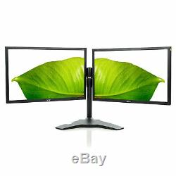 Dual Acer V223W 22 1680x1050 LCD Monitor With Generic Dual Monitor Stand Grade B