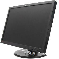 Dual Monitor 24 Lenovo ThinkVision LT2452P LCD 1920x1080 with DELL dual Stand